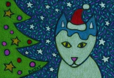 okey-white-cat-drawing-christmas-bztat