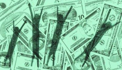 money celebration of wealth