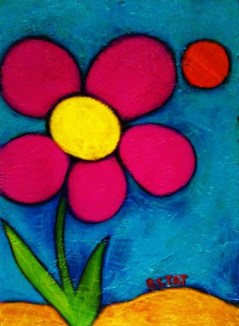 Spring Fling Flower Power Art