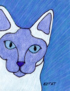 Tonkinese drawing by BZTAT