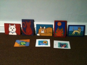 Animal paintings BZTAT