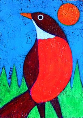 """""""First Sign of Spring"""" painting by BZTAT"""