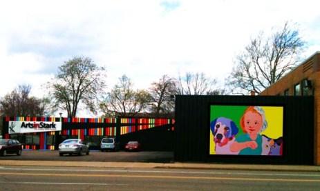 BZTAT Safe Animals Safe Kids Mural
