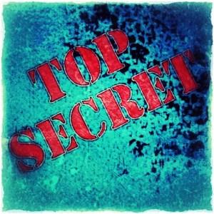 Top Secret Stamp by Artist BZTAT
