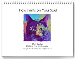 2018 Fine Art Cat Calendar by Artist BZTAT