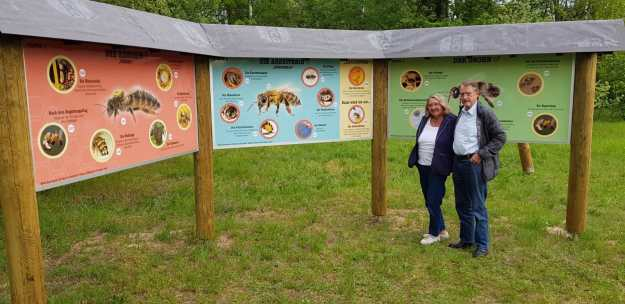 News vom Bienenlehrpfad Egelsbach