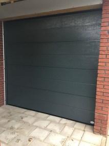 Sectionaal deuren groen