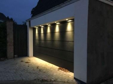 Sectionaal deuren verlichting