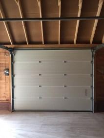 Sectionaal deuren wit binnen
