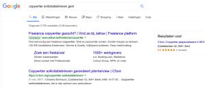 Copywriter sollicitatiebrieven Gent, longtailkeyword, langestaarttrefwoord