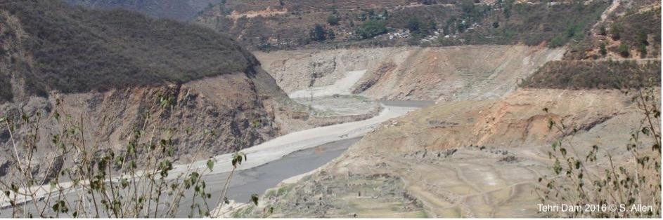 Tehri dam, India