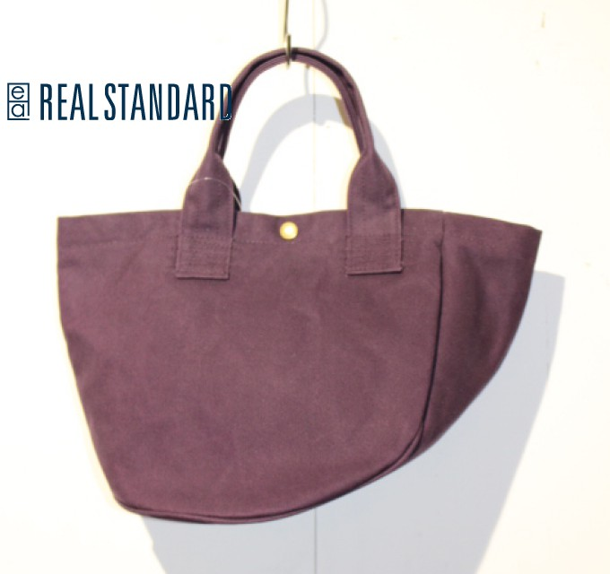 REAL STANDARD キャンバスヘルメットバッグ Luton HELMET BAG JT13003 (PURPLE)