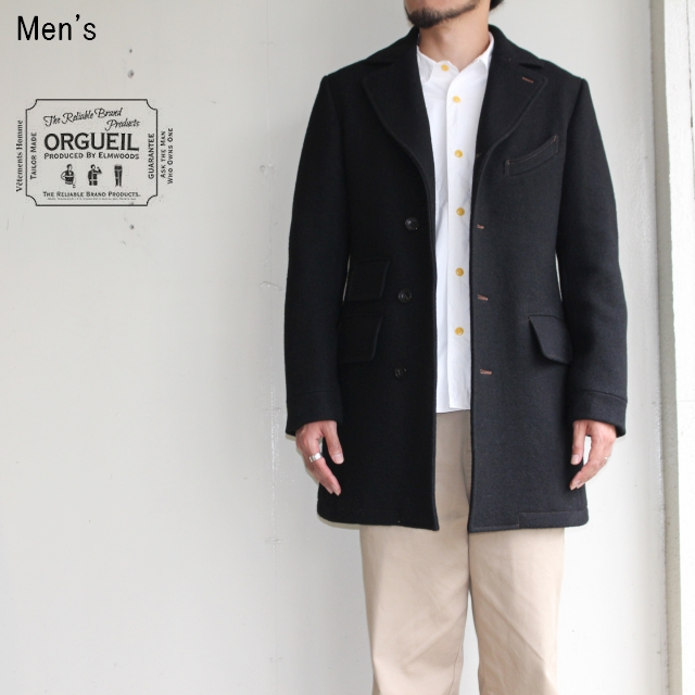 ORGUEIL チェスターフィールドコート Chesterfield Coat OR-4023B (BLACK)