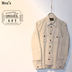ORGUEIL クラシックワークシャツ Classic Work Shirt OR-5010C