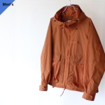 ENDS and MEANS クールマックスナイロンパーカ Fishing Jacket(Brick Brown)