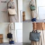 TOOLS ミニトートバッグ Mini Tote Bag 456T13I 4カラー