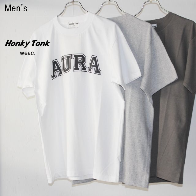 Honky Tonk weac. プリントTシャツ AURA (3Color)
