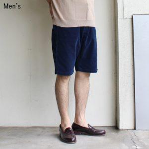 weac. コーデュロイショーツ SUMMER 5 SHORTS (INDIGO)
