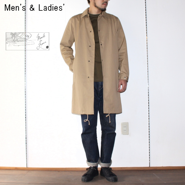 UpscapeAudience コーチステンカラーコート COACH BAL COLLAR COAT AUD2818 (BEIGE)