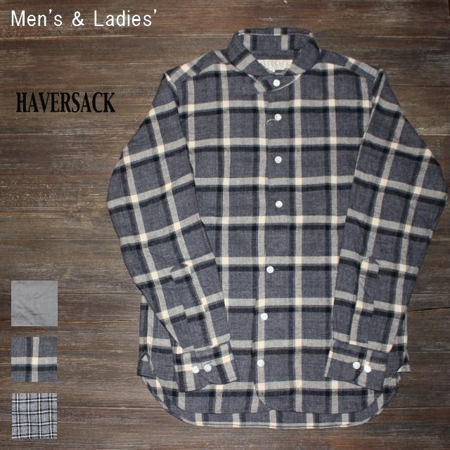 HAVERSACK 丸襟チェックシャツ BASIC SHIRTS 4212736  (BIG CHECK)