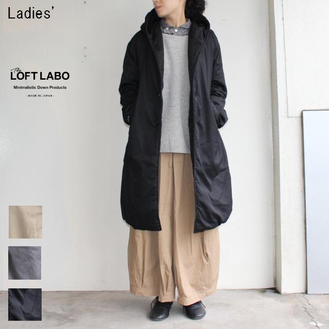 THE LOFT LABO フードロングダウンコート WIIS TL15FJK4 (BLACK)