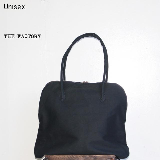 THE FACTORY シルババッグS キャンバス TF18SS-7005 (BLACK)