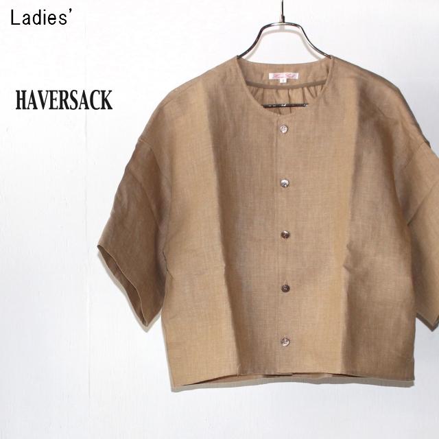 HAVERSACK リネンダンガリージャケット Linen Dungaree Jacket 671804