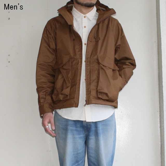 ENDS and MEANS  ハガーストンパーカ Haggerston Parka (BROWN)