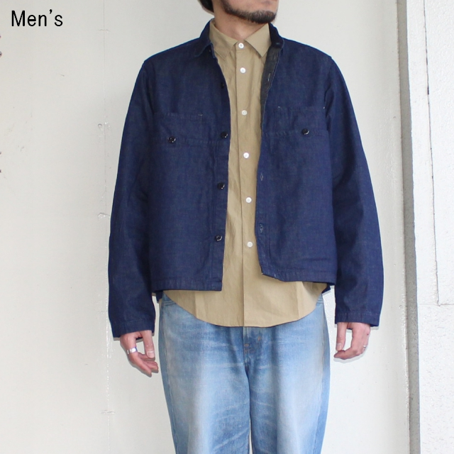 ENDS and MEANS  ワークシャツジャケット EM Work Shirts (DENIM)
