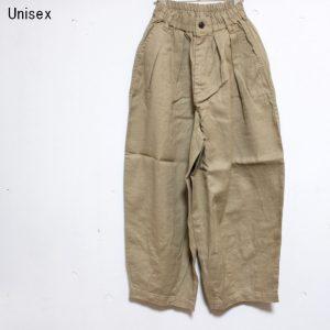 HARVESTY リネンコットンサーカスパンツ LINEN COTTON CIRCUS PANTS A11803 (BEIGE)