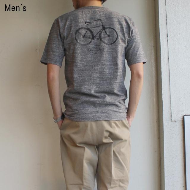 ORGUEIL バックプリントポケットT Print T-Shirt  OR-9015B (GRAY)