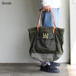 yoused バブアーリメイクトートバッグ L Barbour Remake Tote Bag (OLIVE)