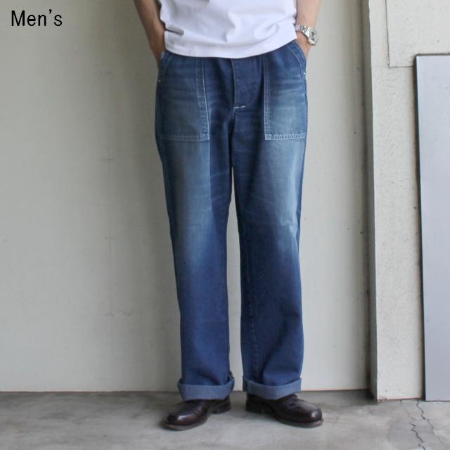 StanRay デニムトラウザー / 国内別注 (USED BLUE)