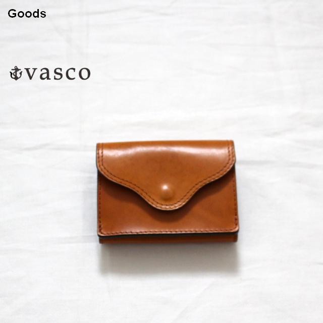 vasco  三つ折りポケットウォレットLEATHER VOYAGE POCKET WALLET VSC-702 (MEAL)
