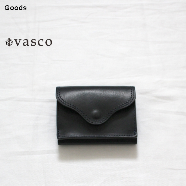 vasco  三つ折りポケットウォレットLEATHER VOYAGE POCKET WALLET VSC-702 (MARINE)