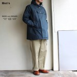 ENDS and MEANS  Field Half Coat EM191J001 (ダークネイビー)