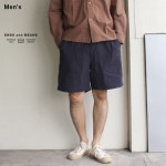 ENDS and MEANS イージーベーカーショーツ Easy Baker Shorts EM191P013 (ネイビー)