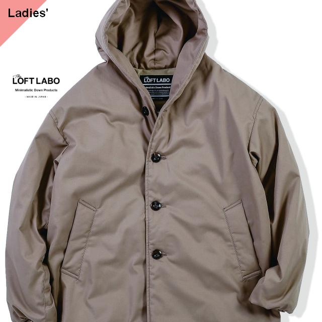 THE LOFTLABO 【19-20秋冬】フードロングダウンコート WIIS ベージュ TL15FJK04