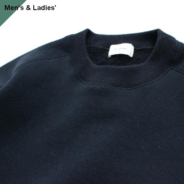 THE HINOKI コットンウール裏起毛スウェットシャツ TH19W-22 ブラック