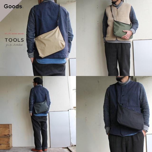 TOOLS ユーティリティショルダーバッグ Utility Shoulder Bag 456T15I 4カラー