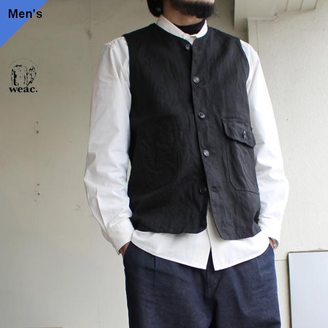 weac. ハンティングワークベスト FUTURE VEST 【Limited】 ブラック