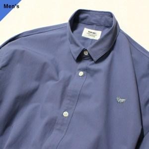 weac. PUGCHAN レギュラーシャツ (BLUE)