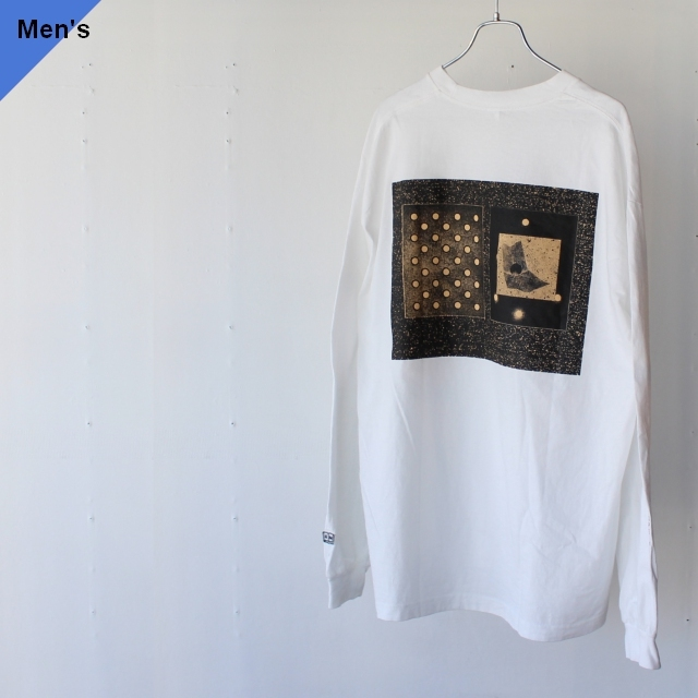 ENDS and MEANS エンズアンドミーンズ Back Print L/S Tee