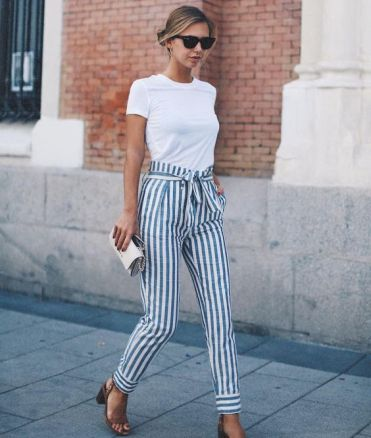 How to Wear Stripes to Look Slimmer