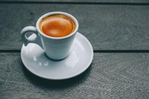 Continuous Improvement Fitness - White Ceramic Mug and Saucer