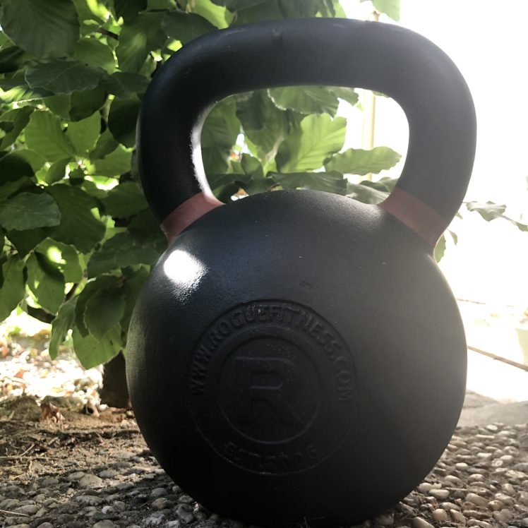 A Kettlebell the ideal tool to - Train with Young Kids at Home