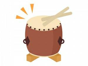 【1/12】新春を祝う会~独楽遊びと和太鼓~