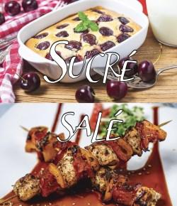 Sucré/Salé (recettes de la saison)