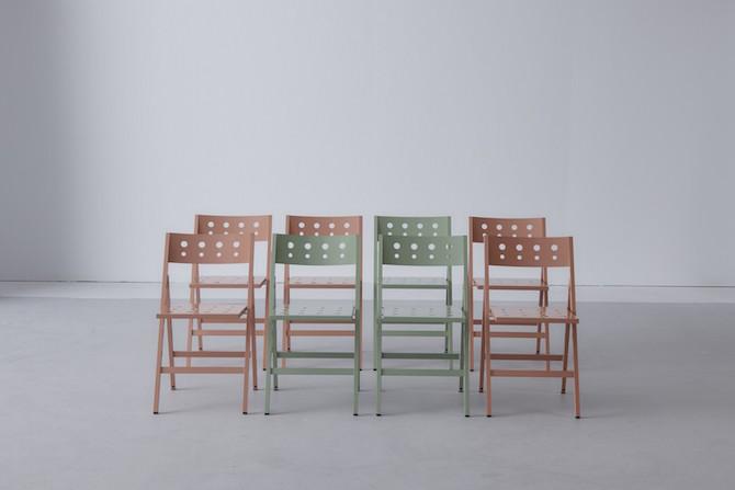 Robin Aluminium folding chair | Maarten Baptist | Room|LOFT#2 | C-More Concept Store
