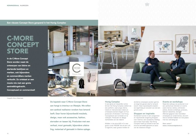 C-More Concept Store in Koningsdaal Magazine
